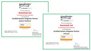 Rumintel Ltd. Wonderware Certified System Integrator Partner